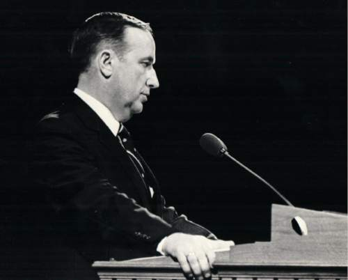 (Tribune file photo) Elder Richard G. Scott