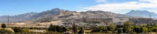 Trent Nelson  |  The Salt Lake Tribune Geneva Rock's operations at Point of the Mountain, straddling Utah and Salt Lake Counties, Tuesday September 22, 2015.