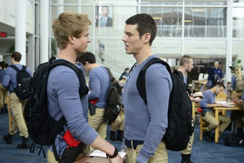 "Guy D'Alema  |  ABC Graham Rogers and Brian J. Smith star in ""Quantico."""
