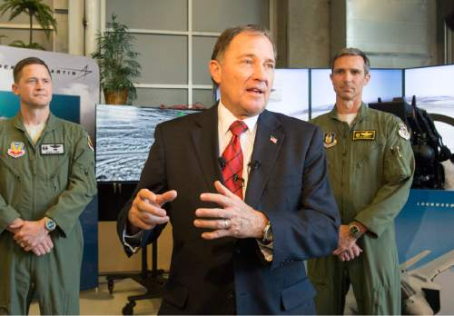 Rick Egan  |  Tribune file photo Gov. Gary Herbert revealed his budget plan that includes a big increase for education.