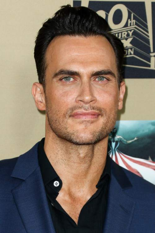 """Cheyenne Jackson attends the LA Premiere Screening of """"American Horror Story: Hotel"""" held at Regal Cinemas L.A. Live on Saturday, Oct. 3, 2015, in Los Angeles. (Photo by John Salangsang/Invision/AP)"""
