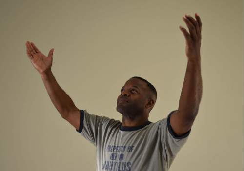 """Courtesy photo  In People Productions' """"The Exonerated,"""" Rodney ONeil Lewis portrays David Keaton."""