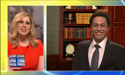 Screen grab of Saturday Night Live, where Utah Rep. Jason Chaffetz was portrayed in his ongoing run for Speaker of the House.