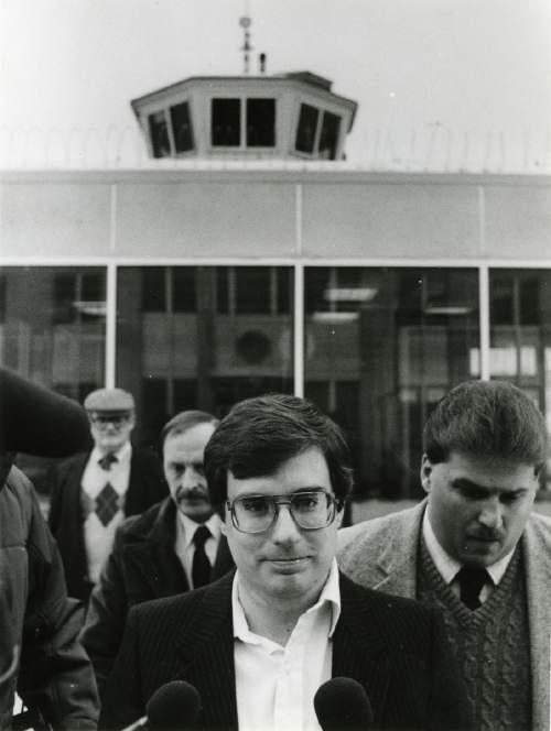 Undated |  Tribune file photo of Mark Hofmann.