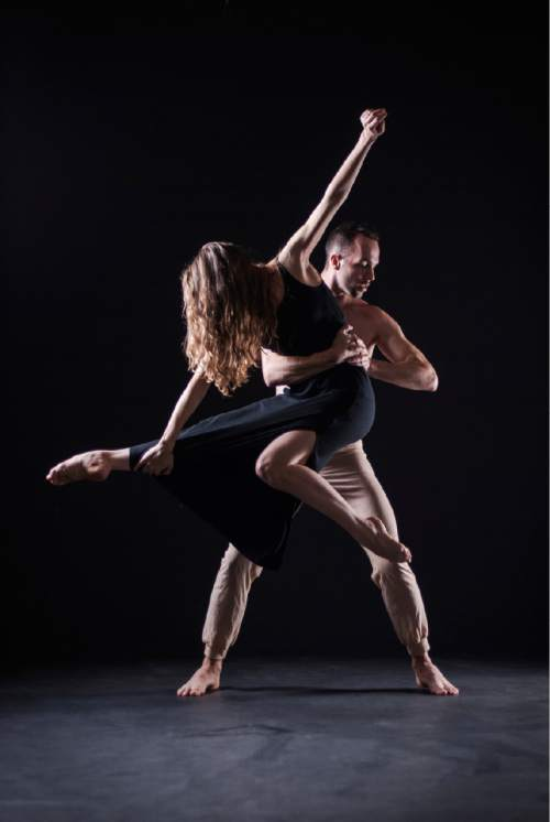 "SALT Contemporary Dance presents ""Surge II"" on Oct. 24 at Prospector Square Theater in Park City. Pictured, Joni Tuttle McDonald and Garrett Smith. Courtesy Arrieta Photo"