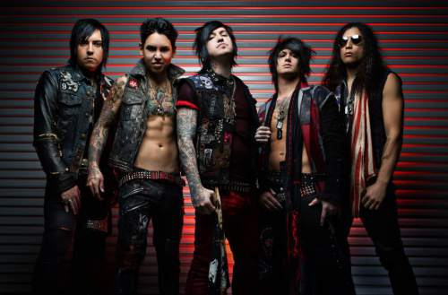 | Courtesy Escape the Fate  Las Vegas post-hardcore band Escape the Fate will perform with guests A Skylit Drive, Sworn In, Sirens & Sailors, Myka Relocate, and Arsenal of Destruction, Oct. 21, 2015, at In The Venue in Salt Lake City. Visit smithstix.com for information.