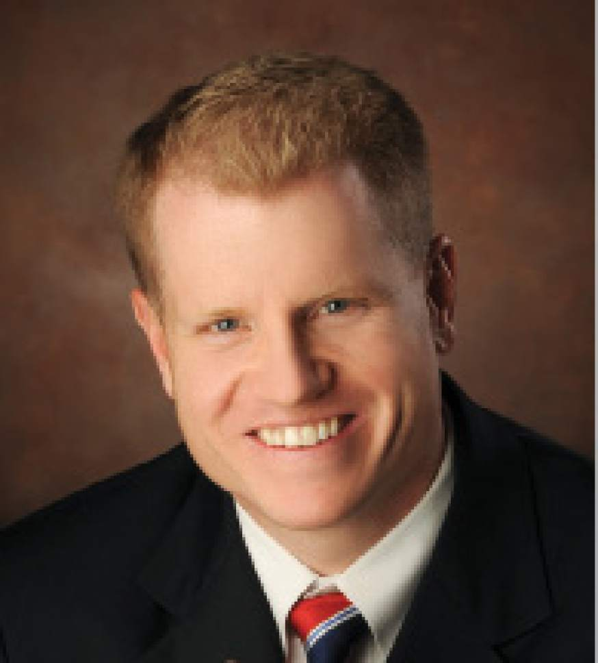 Salt Lake City Councilman James Rogers was picked as vice chairman of the council.  Courtesy photo