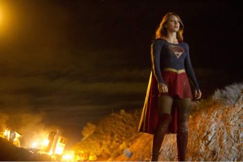 "Melissa Benoist stars as the title character in ""Supergirl."" Darren Michaels  |  CBS"
