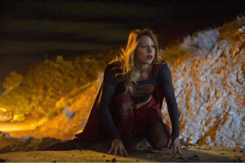 """Melissa Benoist stars as the title character in """"Supergirl."""" Courtesy of WBEI"""