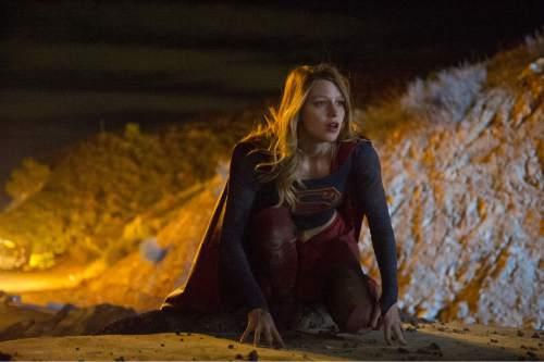 "Melissa Benoist stars as Kara Zor-El, Superman's cousin, in ""Supergirl.""  Photo: Darren Michaels/CBS"