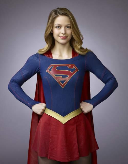 "Melissa Benoist stars as Kara Zor-El, Superman's cousin, in ""Supergirl.""  Photo: Matthias Clamer/Warner Bros. Entertainment"