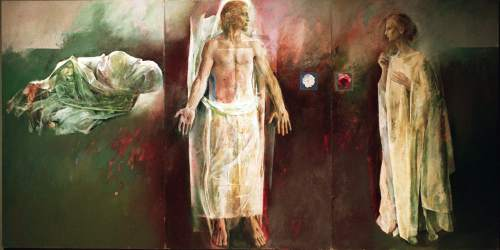 """Jesus and Mary: The Moment After"" by Trevor Southey"