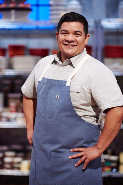 "Salt Lake City chef and bakery owner, Adalberto Diaz, is one of 10 bakers competing on the next season of Food Network's ""Holiday Baking Championship."" Courtesy  