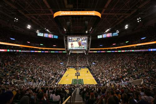 Courtesy  |  Larry H. Miller Sports & Entertainment  A rendering of the new Vivint Smart Home Arena.