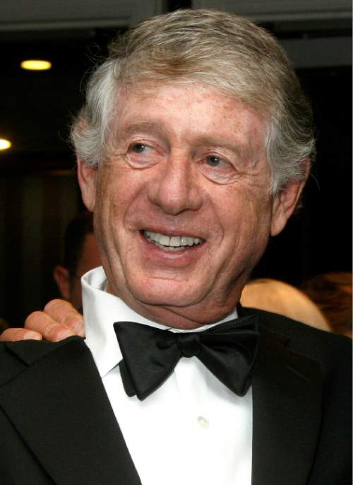 FILE - In this Sept. 24, 2007 file photo,Ted Koppel, is shown at the 28th Annual News and Documentary Emmy Awards gala in New York. (AP Photo/Tina Fineberg, file)