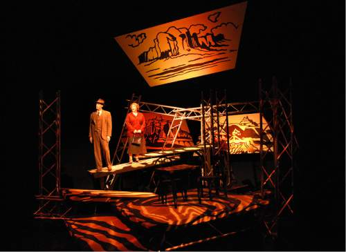 Courtesy  |  Plan-B Theatre Company  The End of the Horizon, 2008, set designed by Randy Rasmussen.