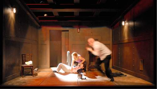 Courtesy  |  Plan-B Theatre Company  Amerika, 2006, set designed by Randy Rasmussen.