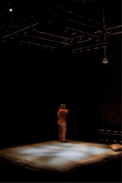 Courtesy  |  Plan-B Theatre Company  Nothing Personal, 2013, set designed by Randy Rasmussen.