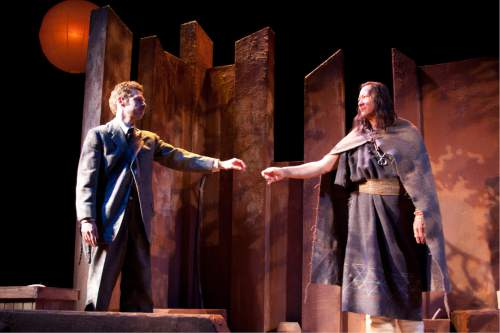 Courtesy  |  Plan-B Theatre Company  She was by Brother, 2010, set designed by Randy Rasmussen.
