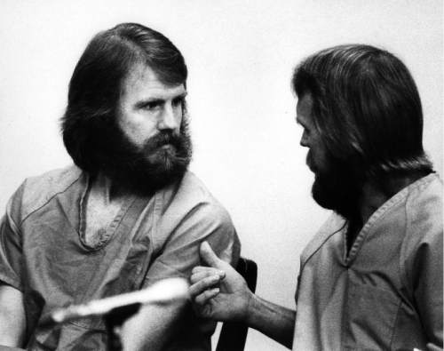 |  Tribune File Photo  L-R Dan Lafferty, Ron Lafferty. 1984