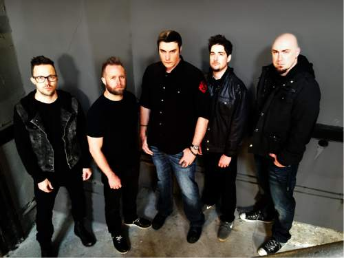"""Courtesy photo  After a hiatus of a few years, frontman and songwriter Ben Burnley has revamped the alt-rock band Breaking Benjamin. They are touring in support of their new album, """"Dark Before Dawn,"""" and will be opening for Shinedown at the Maverik Center in West Valley City on Friday, Oct. 30."""