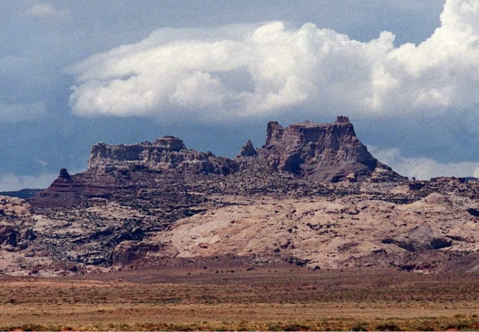 |  Tribune File Photo  Temple Mountain.