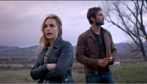 "Rebecca Rittenhouse and Chance Crawford star in ""Blood & Oil,"" a television series coming to ABC in September that was filmed in Utah."