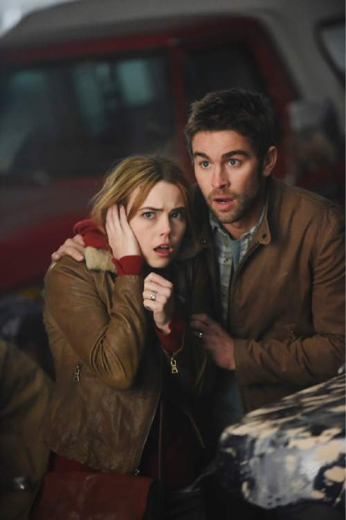 "Rebecca Rittenhouse and Chace Crawford star in ""Blood & Oil.""  Photo: Fred Hayes/ABC"