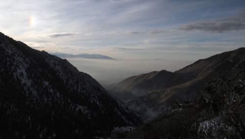 Al Hartmann  |  Tribune file photo               A view of Millcreek Canyon.