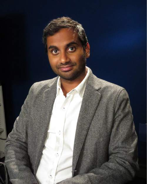 In this Oct. 26, 2015 photo, actor-comedian Aziz Ansari poses to promote his new Netflix comedy series, Master of None, premiering on Friday, Nov. 6. (AP Photo/Frazier Moore)