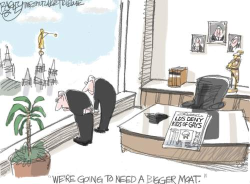 Pat Bagley cartoon for Nov. 8, 2015.