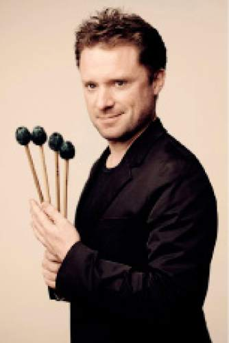 Percussionist Colin Currie will perform with the Utah Symphony on April 18 and 19, 2014. Courtesy Utah Symphony