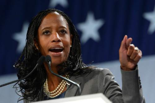 Leah Hogsten     Tribune file photo Rep. Mia Love has, for the second time this year, reimbursed taxpayer-funded airfare -- this time for a flight that was booked and she was paid for, but never took.