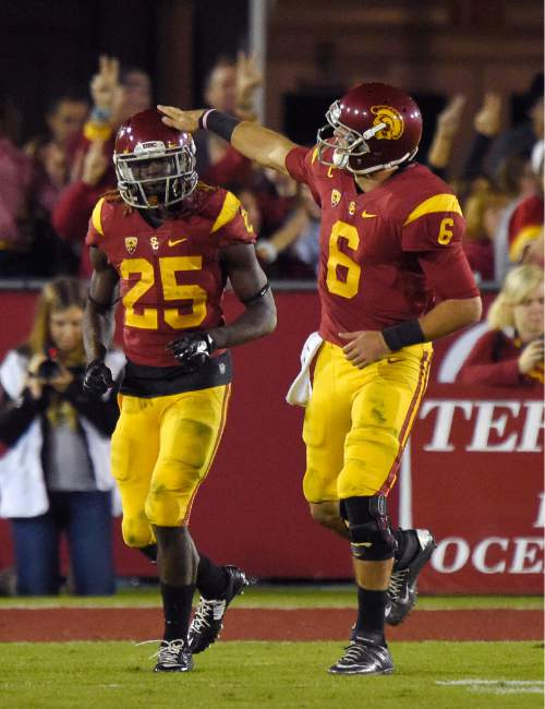 College Football Ronald Jones Ii Poised To Join Usc Trojans Tailback Greats The Salt Lake Tribune