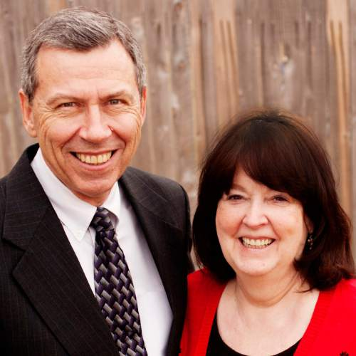 Courtesy  |  LDS Church  President Norman C. Hill and his wife, Ruth.