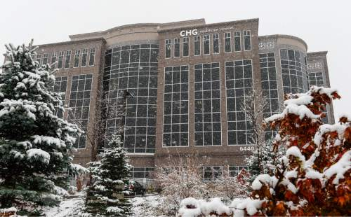 Francisco Kjolseth | The Salt Lake Tribune CHG Healthcare Services near Big Cottonwood Canyon.