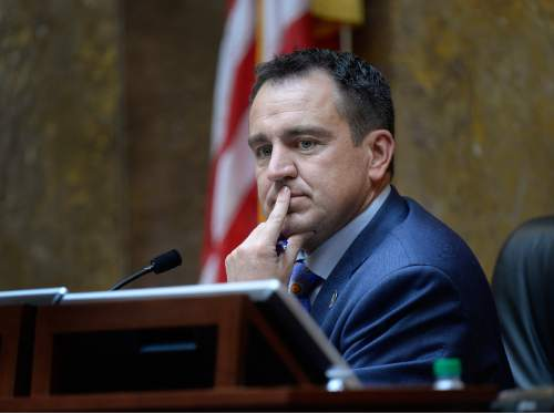 Scott Sommerdorf   |  Tribune file photo House Spaker Greg Hughes, R-Draper, has appointed Salt Lake City realtor Babs Delay to the UTA board to replace former Sen. Sheldon Killpack, who went on a controversial Swiss trip that Hughes organized.
