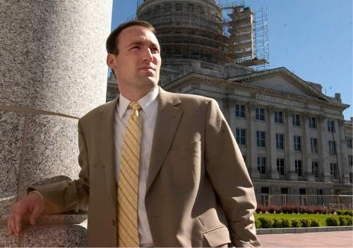 |  Tribune File Photo  Chris Bleak at the State Capitol campus June 13, 2005.