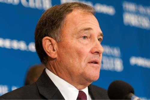 Courtesy | Noel St. John Utah Governor Gary Herbert is one of just two Republican chief executives who want to keep their states open to Syrian refugees. The other is South Dakota Gov. Dennis Daugaard..