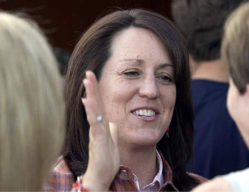 |  Tribune File Photo  Kate Kendell is resigning from the LDS Church.