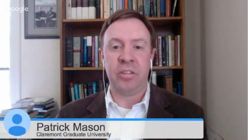    Trib Talk  Patrick Mason, on Trib Talk on Monday November 9, 2015.