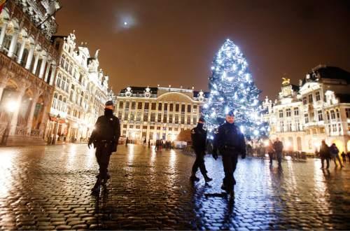 Brussels security lockdown hits businesses - The Salt Lake Tribune