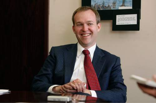 Tribune file photo Ben McAdams, Salt Lake County mayor, wants to collecting a tax originally levied to build the county jail.