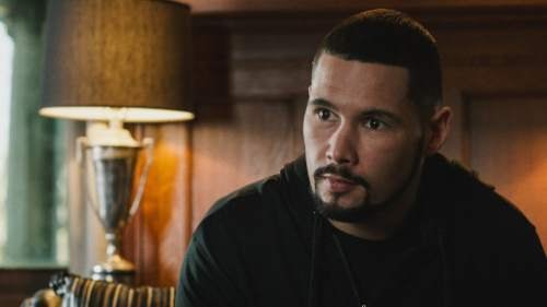 """This photo provided by Warner Bros. Pictures shows Anthony Bellew as """"Pretty"""" Ricky Conlan in Metro-Goldwyn-Mayer Pictures', Warner Bros. Pictures' and New Line Cinema's drama """"Creed,"""" a Warner Bros. Pictures release. (Barry Wetcher/Warner Bros. Pictures via AP)"""