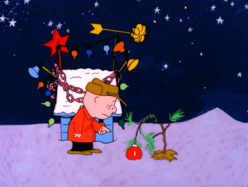 Charlie Brown Christmas 50th.A Charlie Brown Christmas Is Back For Its 50th Anniversary