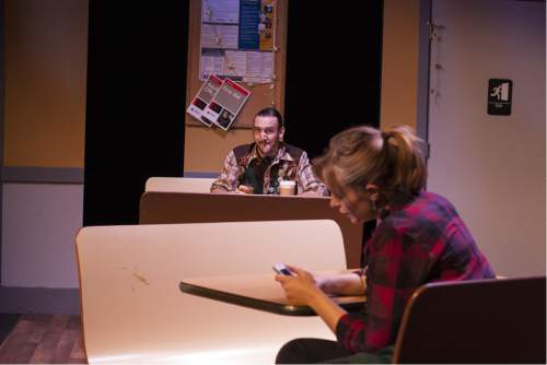 "Rick Pollock  |  Courtesy   Tyson Baker as Casey and Sarah Danielle Young as Alex in Rob Tennant's ""Booksmart."""