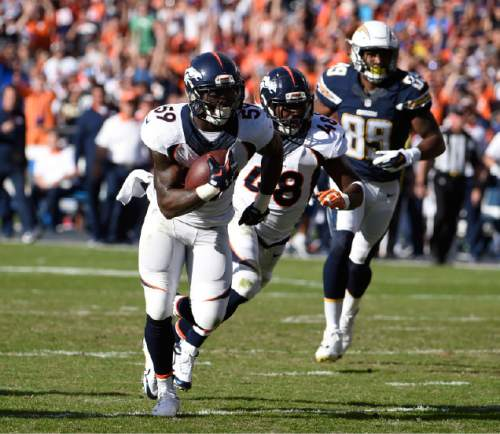 San Diego Chargers Football Scores: NFL: Osweiler, Trevathan Lead Broncos To 17-3 Win Against