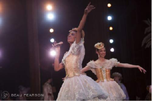 "Katlyn Addison in Mirlitons during Ballet West's 2002 ""Nutcracker"" tour to the Kennedy Center in Washington, D.C.  Beau Pearson  