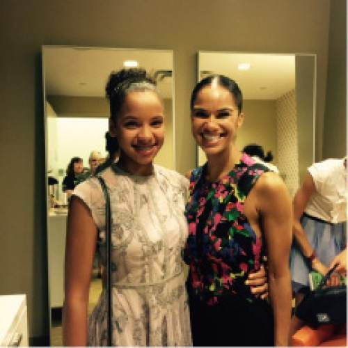 |  Courtesy  Utah teen Olivia Winston, a student in Ballet West Academy's professional training division, met American Ballet Theatre (ABT) dancer Misty Copeland last summer at an event in New York City. The 13-year-old is the academy's ambassador to Brown Girls Do Ballet (BGDB), a program promoting diversity in ballet.