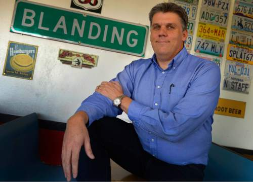 Leah Hogsten    Tribune file photo Phil Lyman, a San Juan County commissioner and protest leader, has been named Utah County Commissioner of the Year.